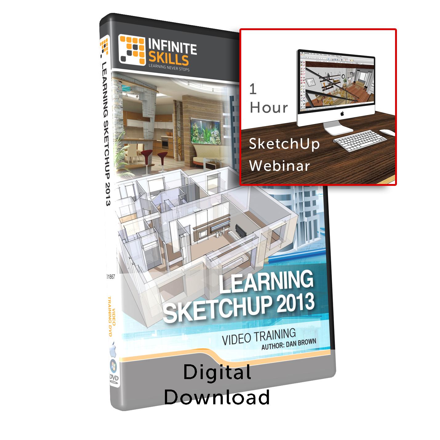 Db learning sketchup 2015 1 hr webinar training for Sketchup 2013